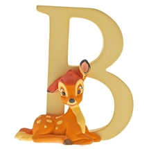 "Disney Enchanting - ""B"" Bambi H:7 cm"