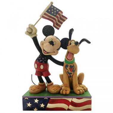 Disney Traditions - A Banner Day m. Mickey og Pluto