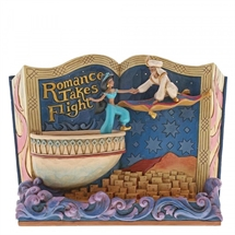 Jim Shore Disney Traditions, Romance Takes Flight (Storybook Aladdin)