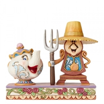 Disney Traditions - Workin Round the Clock (Mrs Potts and Cogsworth)